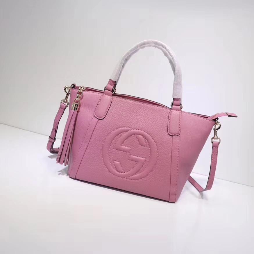 Gucci soho calfskin leather tote bag 3691762018