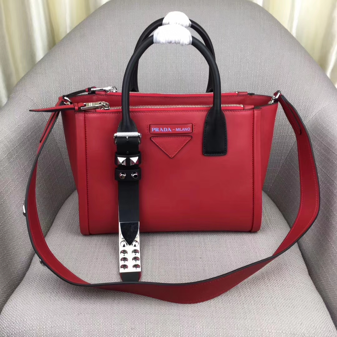 Prada concept calf leather bag 1BA175
