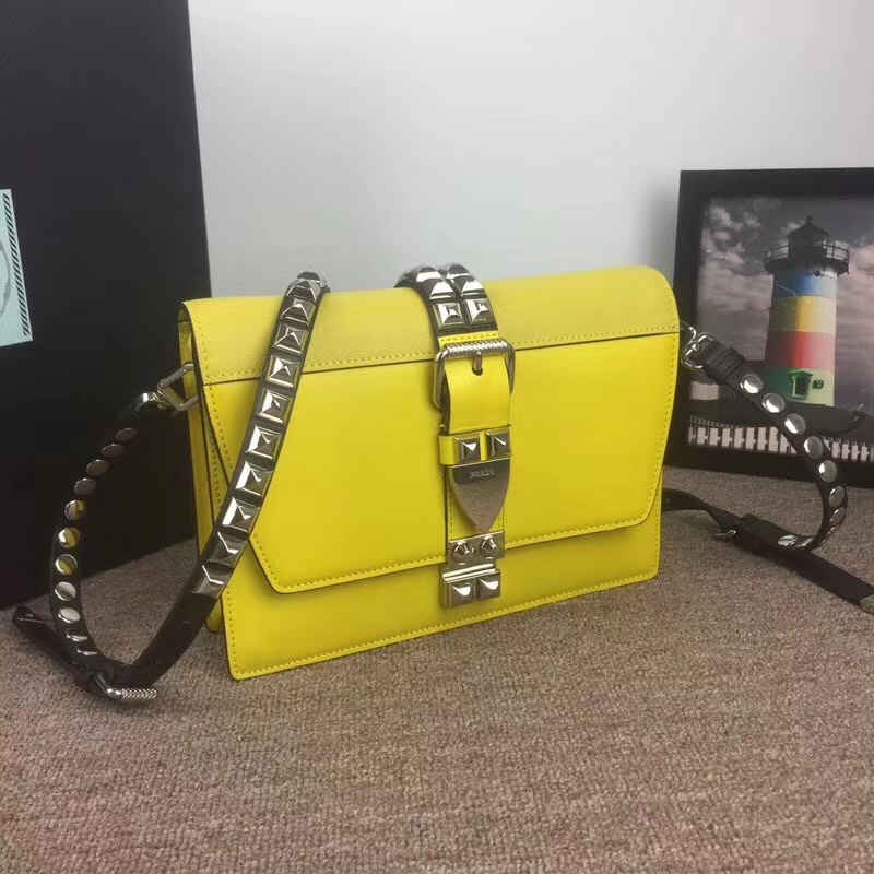 Prada elektra calf leather bag 1BD120