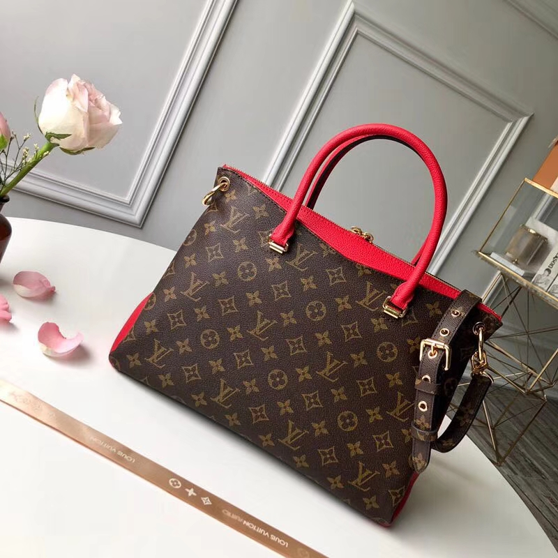 Louis Vuitton pallas monogram canvas bag
