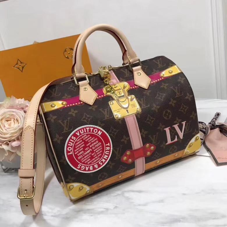 Louis Vuitton pallas monogram canvasbag