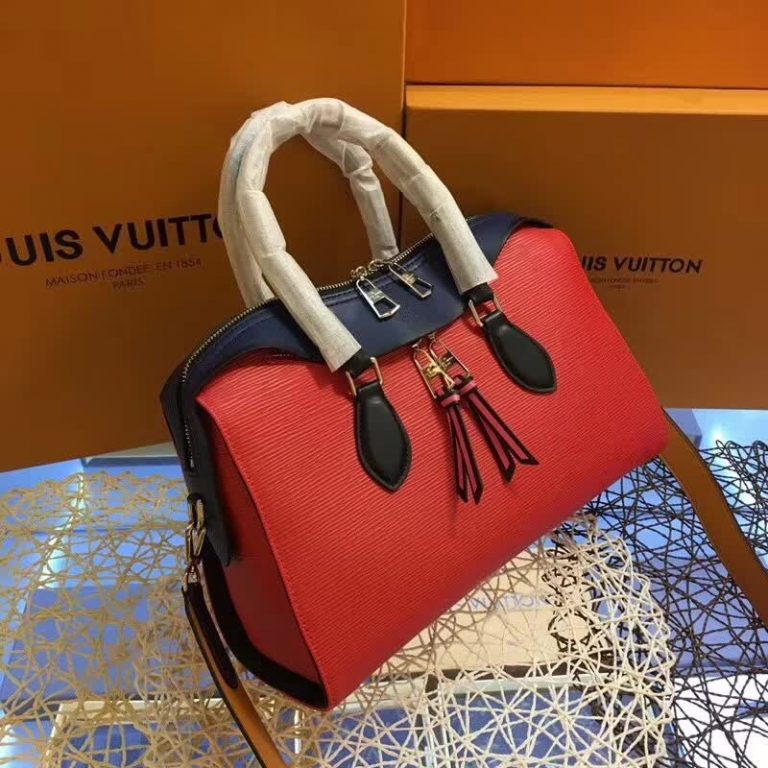 LOUIS VUITTON TUILERIES EPI LEATHER HANDBAG