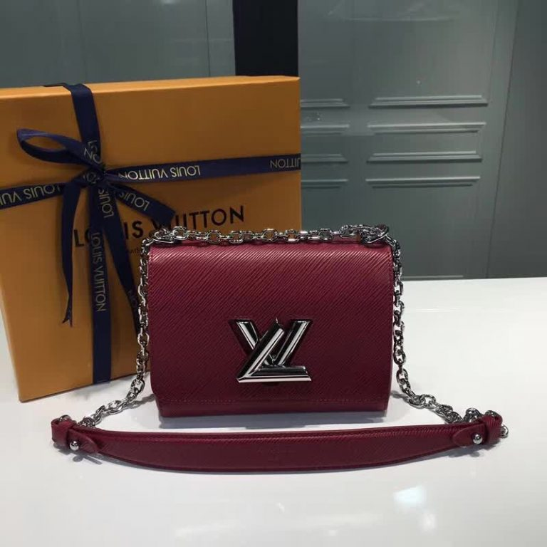 Louis Vuitton Epi Leather Twist PM/MM Bag 2018