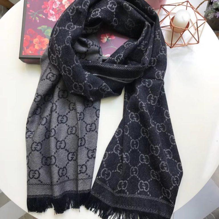 Gucci Classic GG Wool Scarf45x180CM
