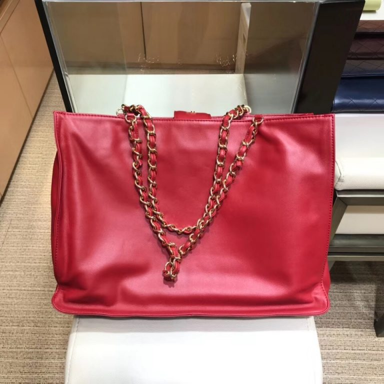 Chanel CC Logo Shopping Tote Bag A780092018