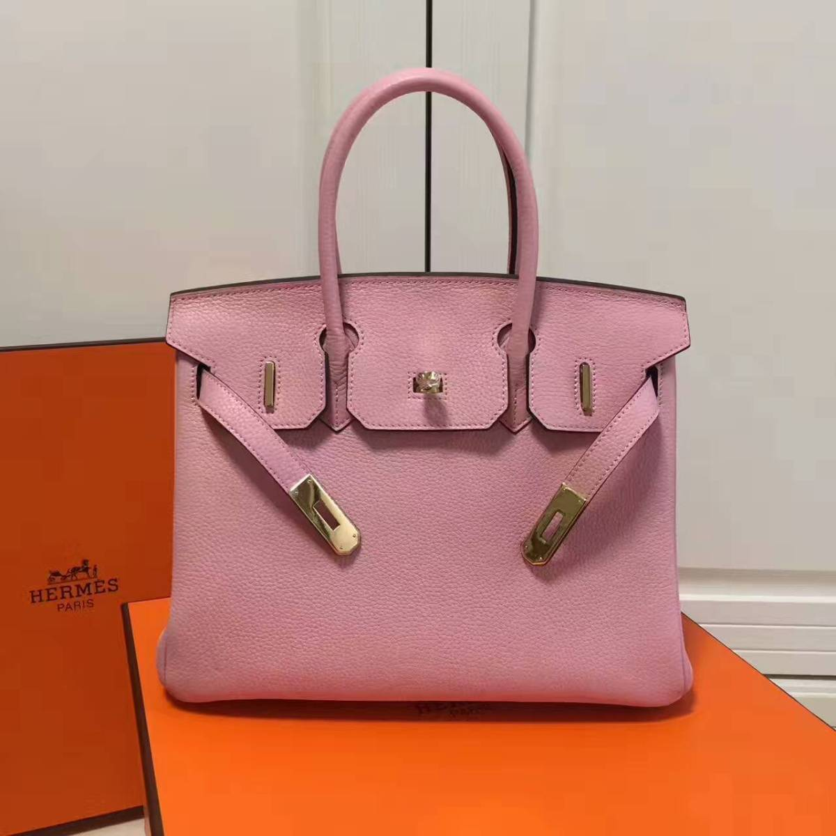 Hermes Birkin 25cm/30cm/35cm Original Togo leather bag