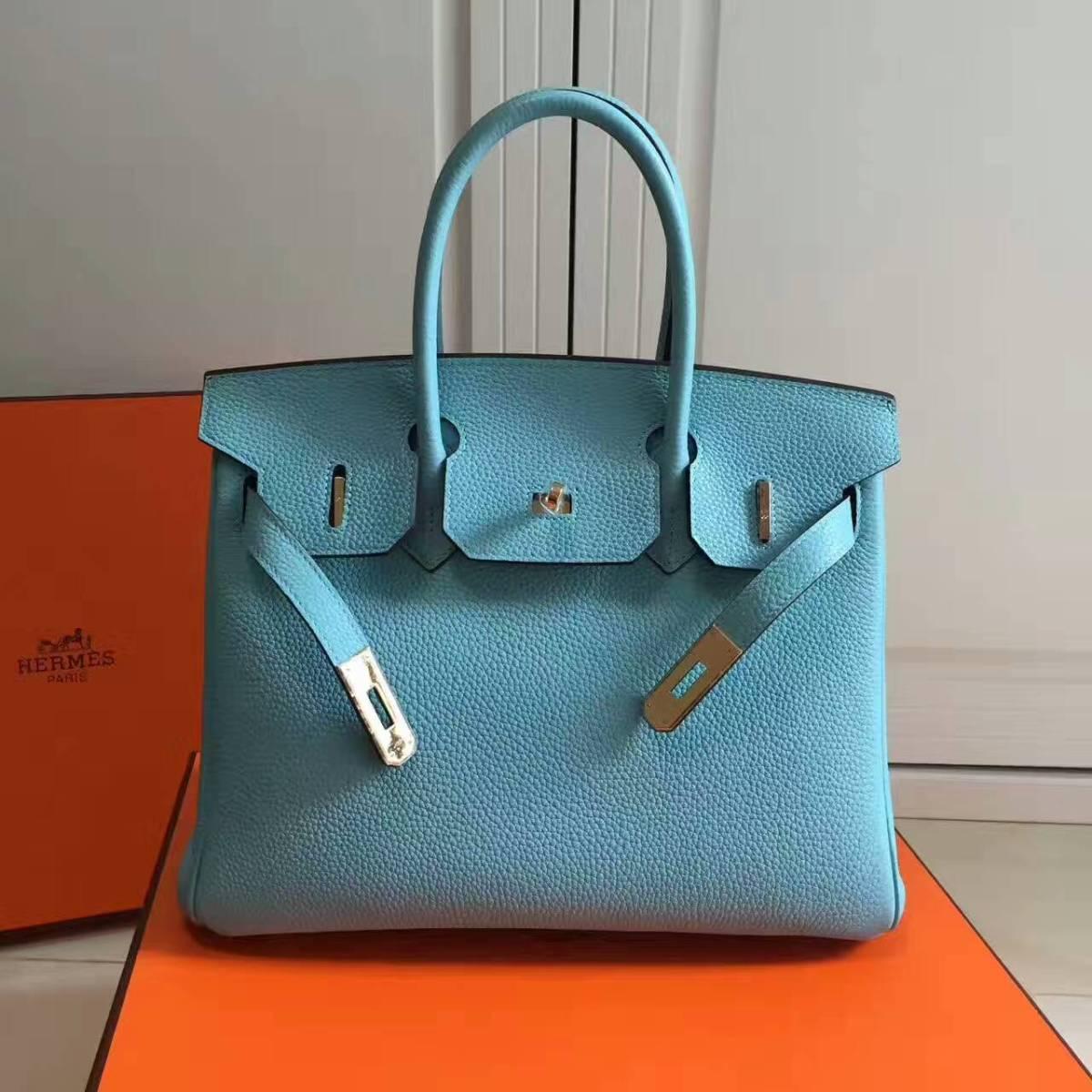 Hermes Birkin 25cm Original Togo leatherbag