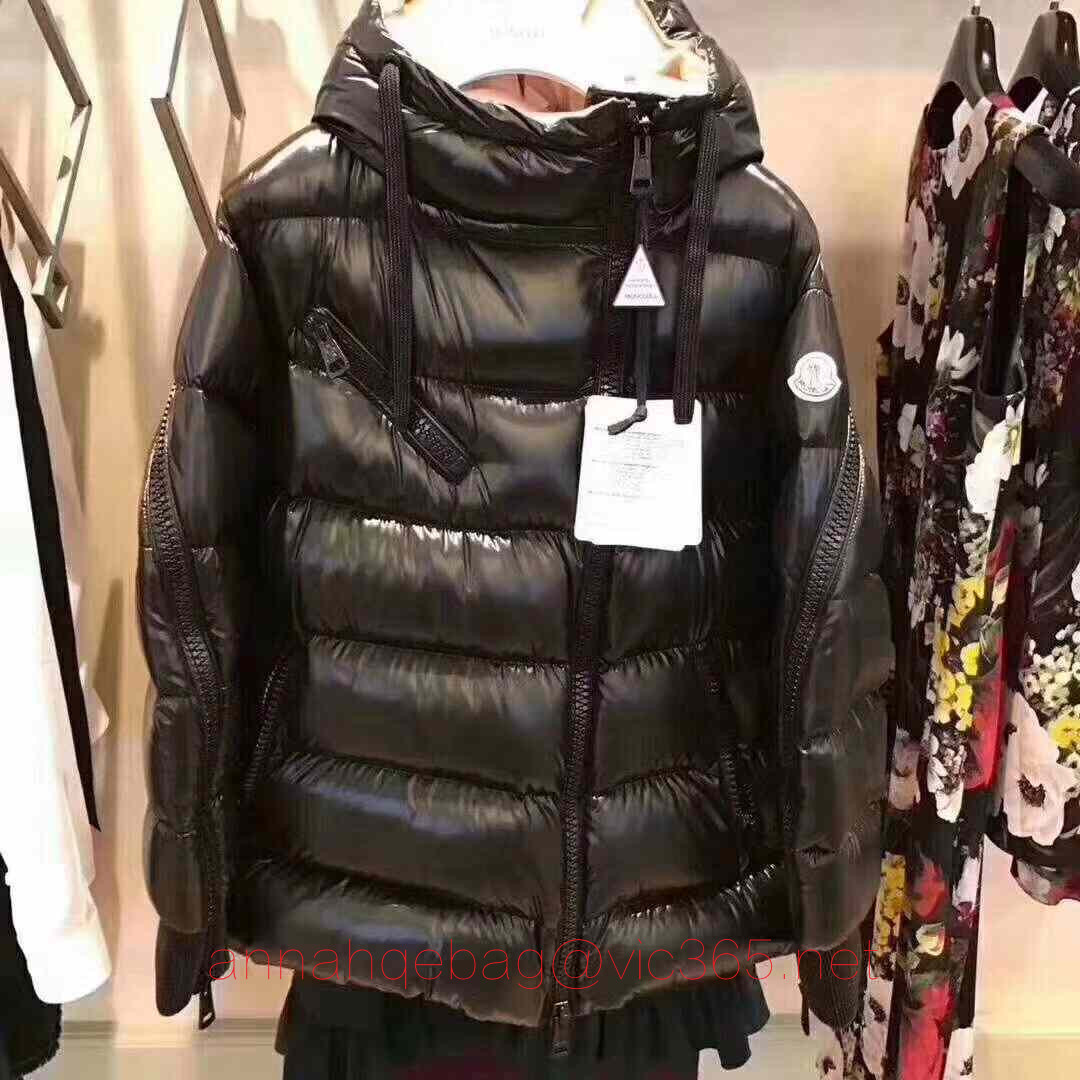 Moncler black jacket for men 2018