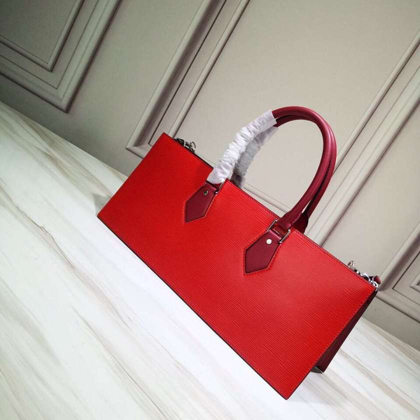 Louis Vuitton 2WAY Plain Leather Elegant Style Handbags M44371 RED.  SIZE 39.5X16X12CM. 微信图片 20190221175640 微信图片 20190221175654 ... 3882eab889639