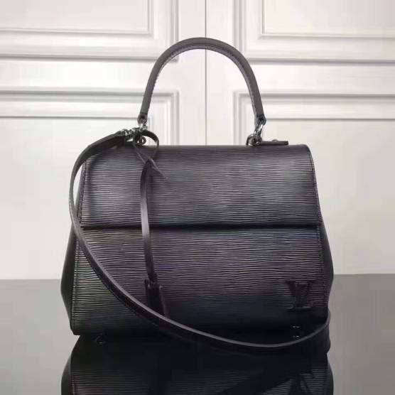 Louis Vuitton EPI 2WAY Plain Leather Elegant Style Handbags M41338 ... 6148e47dd8b08